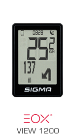 SIGMA SPORT E-BIKE - EOX VIEW 1200
