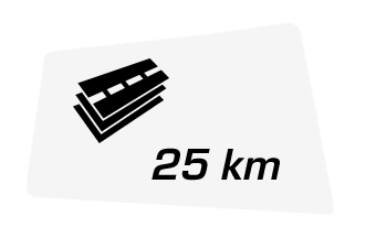 Total distance